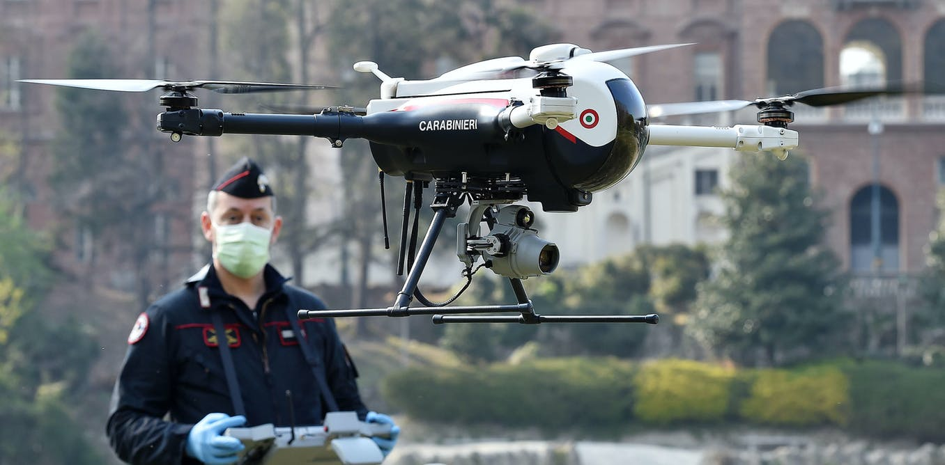 Coronavirus: drones used to enforce lockdown pose a real threat to our civil liberties