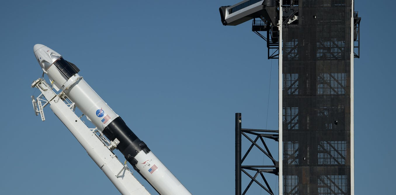 SpaceX reaches for milestone in spaceflight – a private company launches astronauts into orbit
