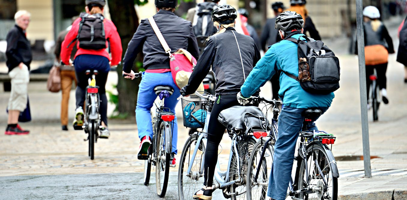 Cycling and walking to work lowers risk of cancer, heart disease and death – new research