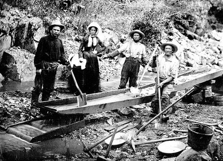 Gold rush, mercury legacy: Small-scale mining for gold has produced long-lasting toxic pollution, from 1860s California to modern Peru