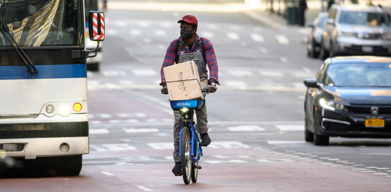 Poor and black 'invisible cyclists' need to be part of post-pandemic transport planning too