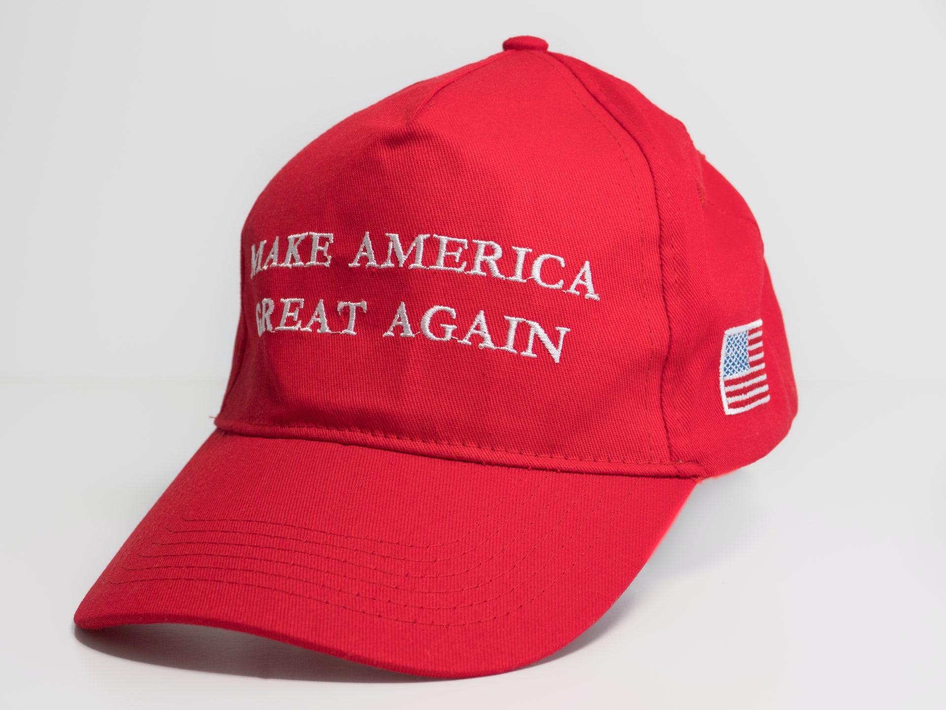 Dad hat America is back hat Biden