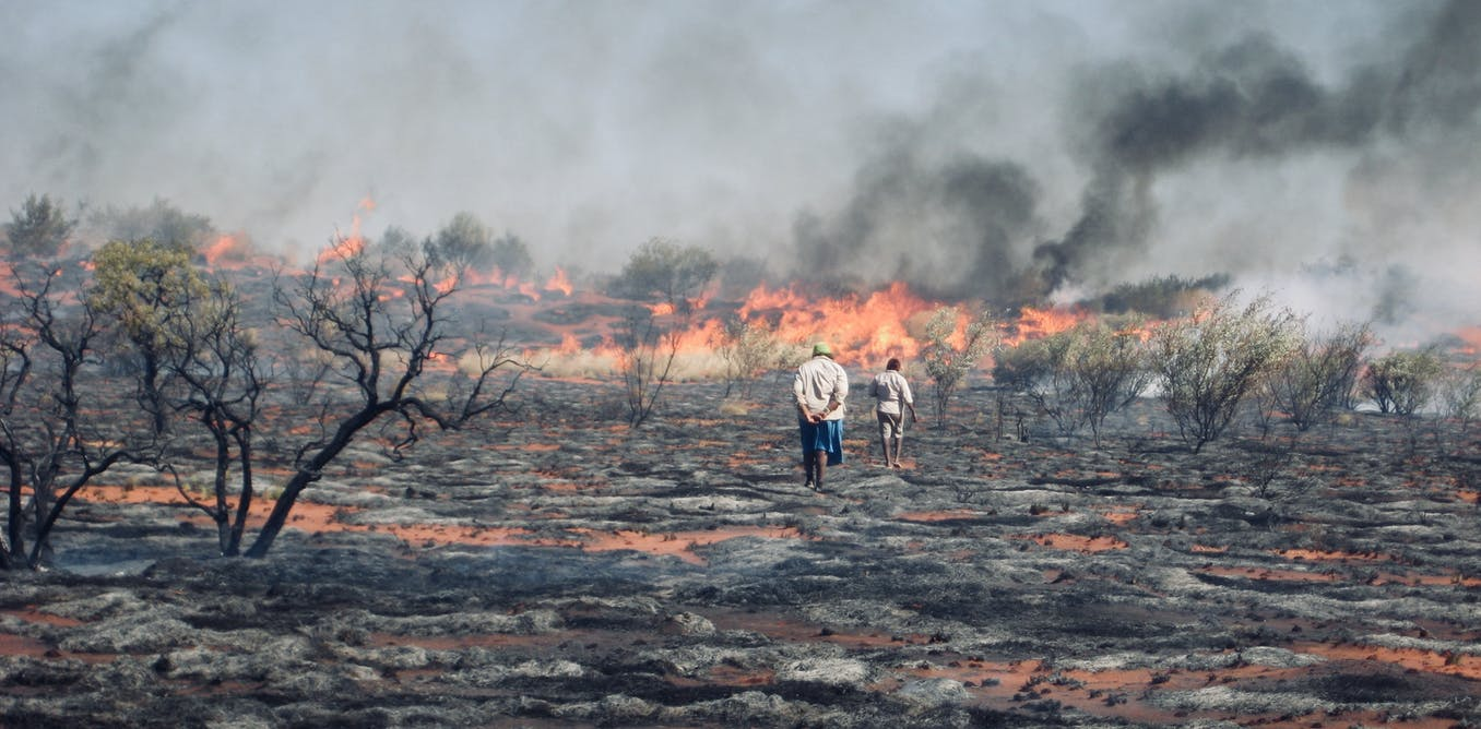 Australia, you have unfinished business. It's time to let our 'fire people' care for this land
