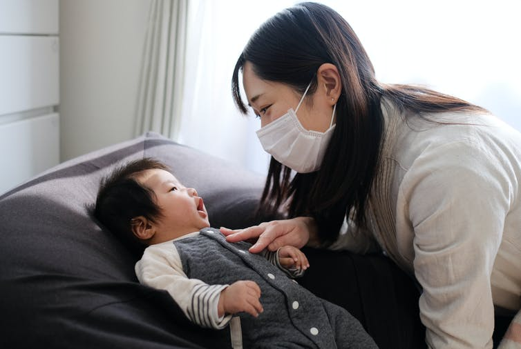 Clear masks for caregivers mean young children can keep learning from adults' faces