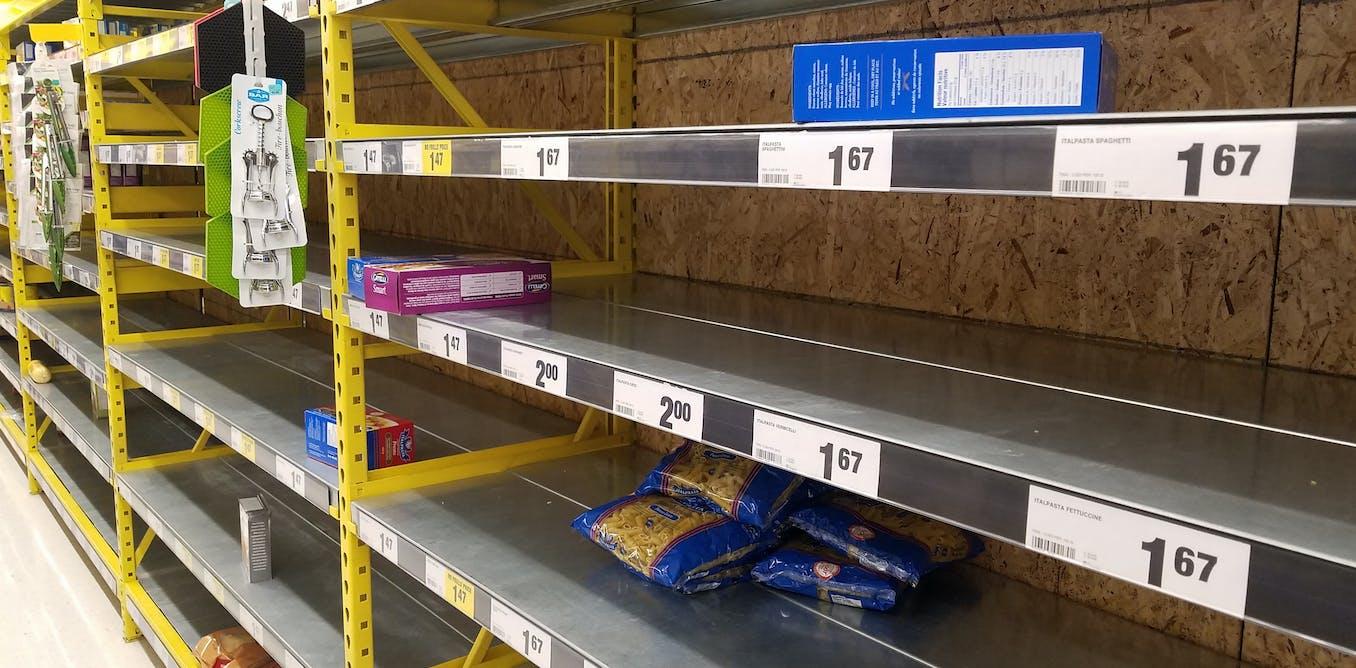 Supply chain innovation can reduce coronavirus food shortages