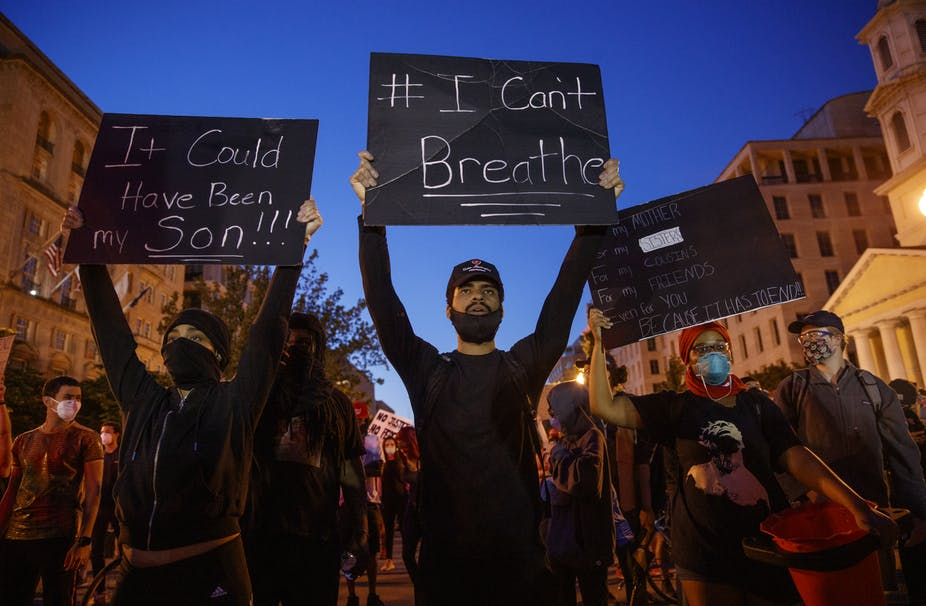 George Floyd: Why the Sight of These Brave, Exhausted Protesters Gives Me Hope