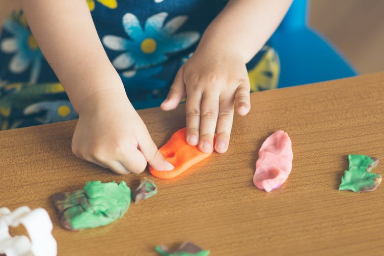 Experimenting with reusable materials emphasizes process over product. (Shutterstock)