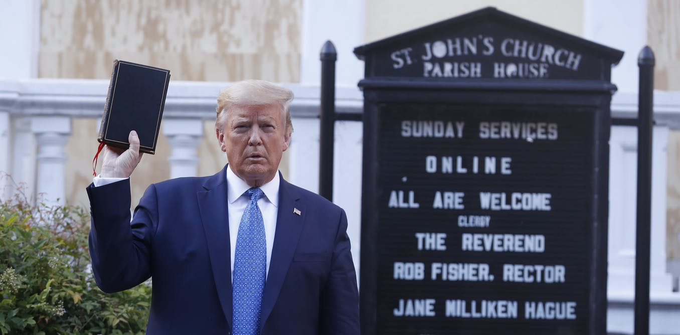 Trumps photo op with church and Bible was offensive, but not new