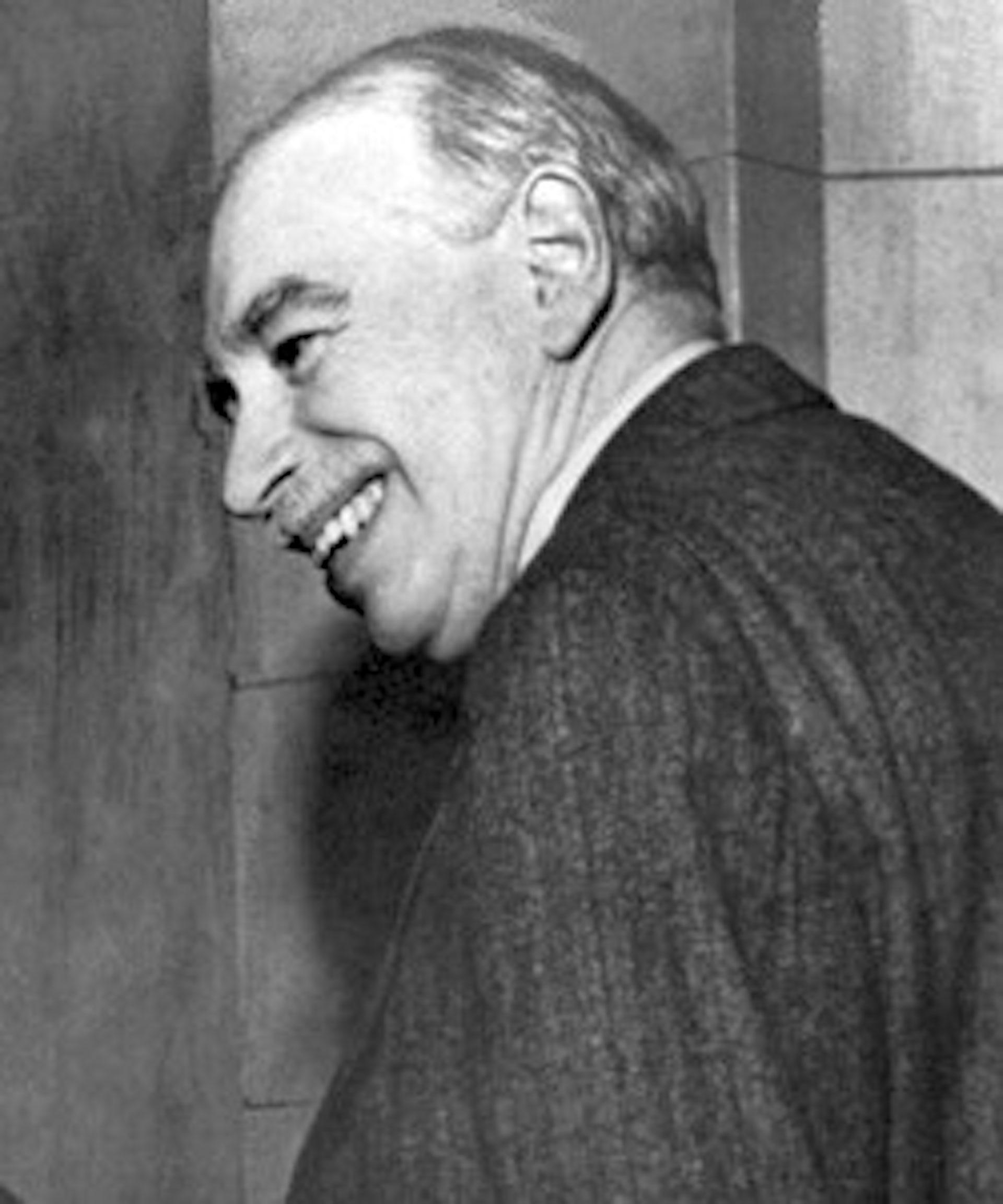 L'économiste anglais John Maynard Keynes en 1946. IMF/Wikimedia