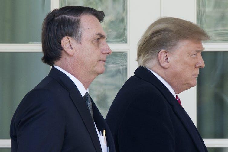 Brazilian and American presidents, Jair Bolsonaro and Donald Trump, mishandled the COVID-19 crisis. EFE-EPA