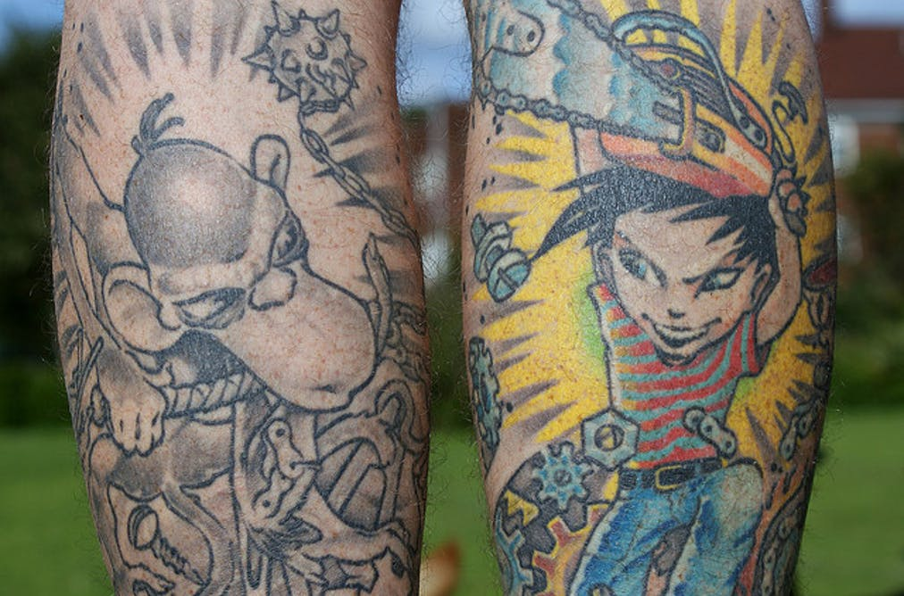 edb896f6b2139 Explainer: how are tattoos removed? There's no doubt that some of the  chemicals in tattoo ...