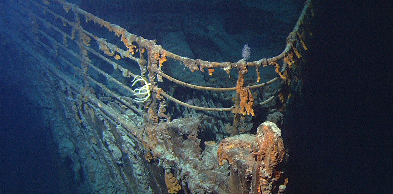 Titanic salvage: recovering the ship's radio could signal a disaster for underwater cultural heritage