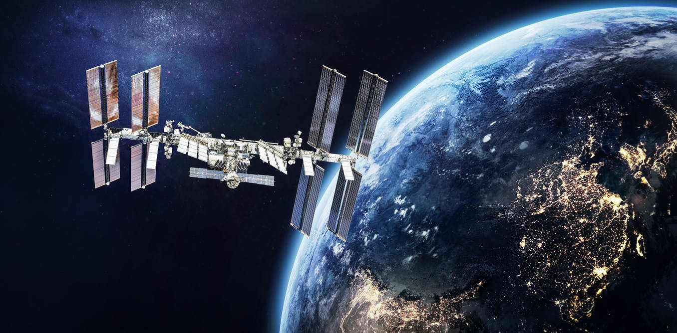 Curious Kids: how would they bring the International Space Station back down to Earth?