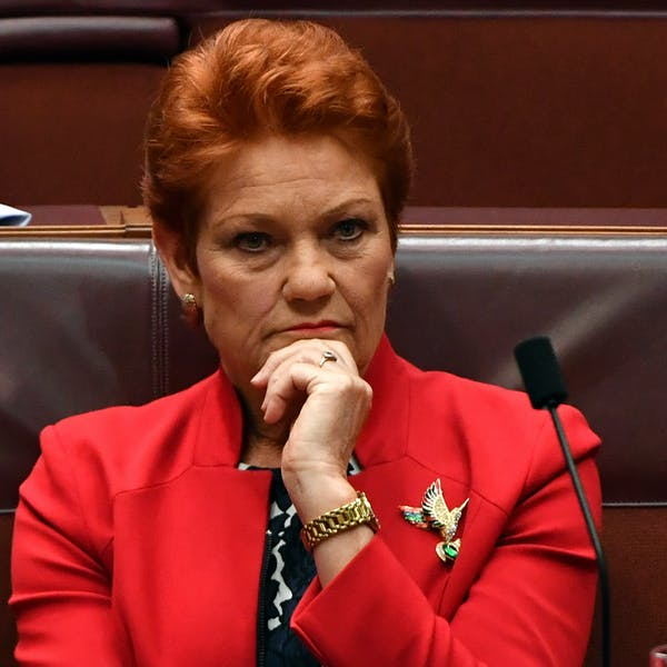 Pauline Hanson built a political career on white victimhood and brought far-right rhetoric to the mainstream