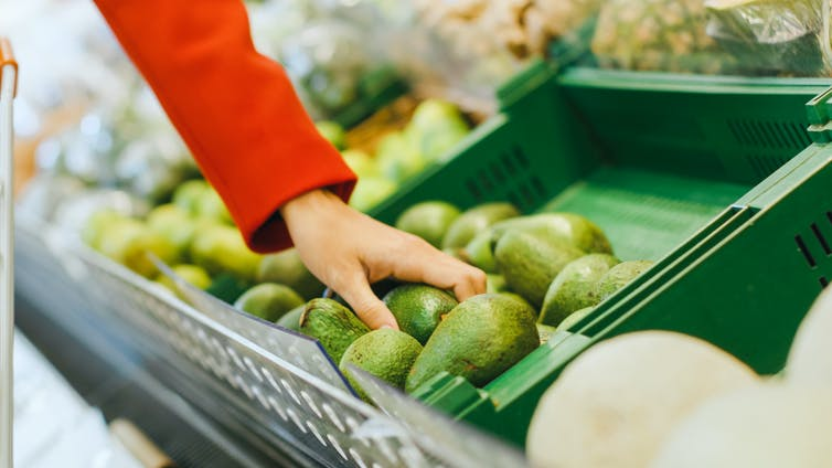 the self-surveillance strategy to keep supermarket shoppers honest