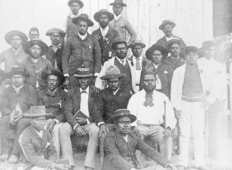 how American slave-owners started again in Australia