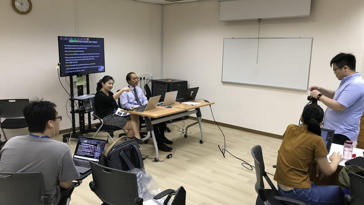 Cara Menciptakan Kelas Online Yang Interaktif Di Tengah Pandemi Covid 19 Pelajaran Dari Singapura