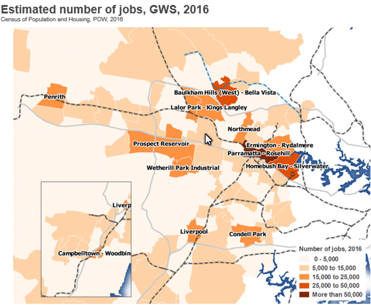 Recession will hit job-poor parts of Western Sydney very hard