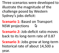 3 planning strategies for Western Sydney jobs, but do they add up?