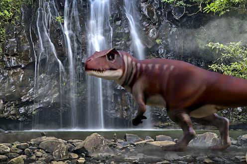 Dinosaur footprints show predators as big as 'T. rex' stomped across Australia 160 million years ago