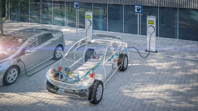 The road to electric vehicles with lower sticker prices than gas cars –  battery costs explained