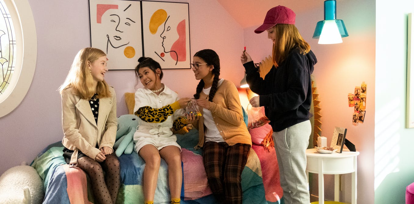 Friday essay: need a sitter? Revisiting girlhood, feminism and diversity in The Baby-Sitters Club