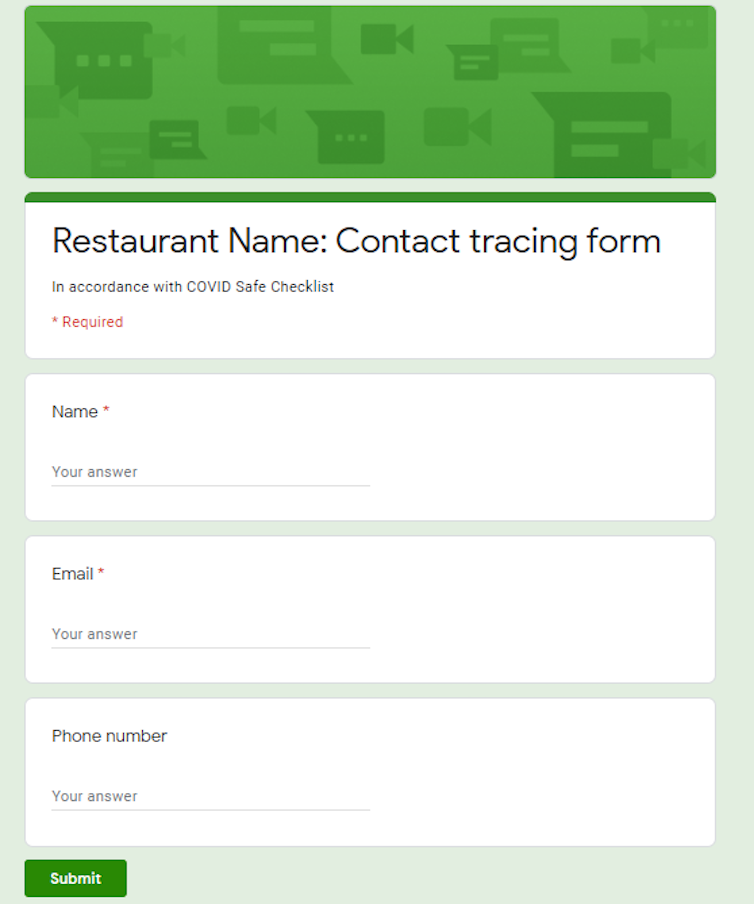 Giving Your Details To Restaurants And Cafes Your Rights Their Obligations And Privacy Concerns