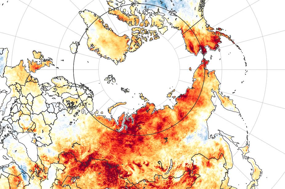 100 degrees in Siberia? 5 ways the extreme Arctic heat ...