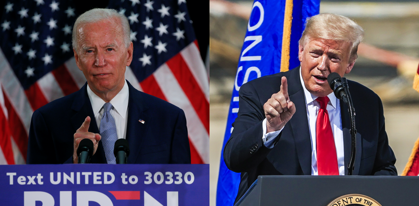 Trump is struggling against two invisible enemies: the coronavirus and Joe Biden