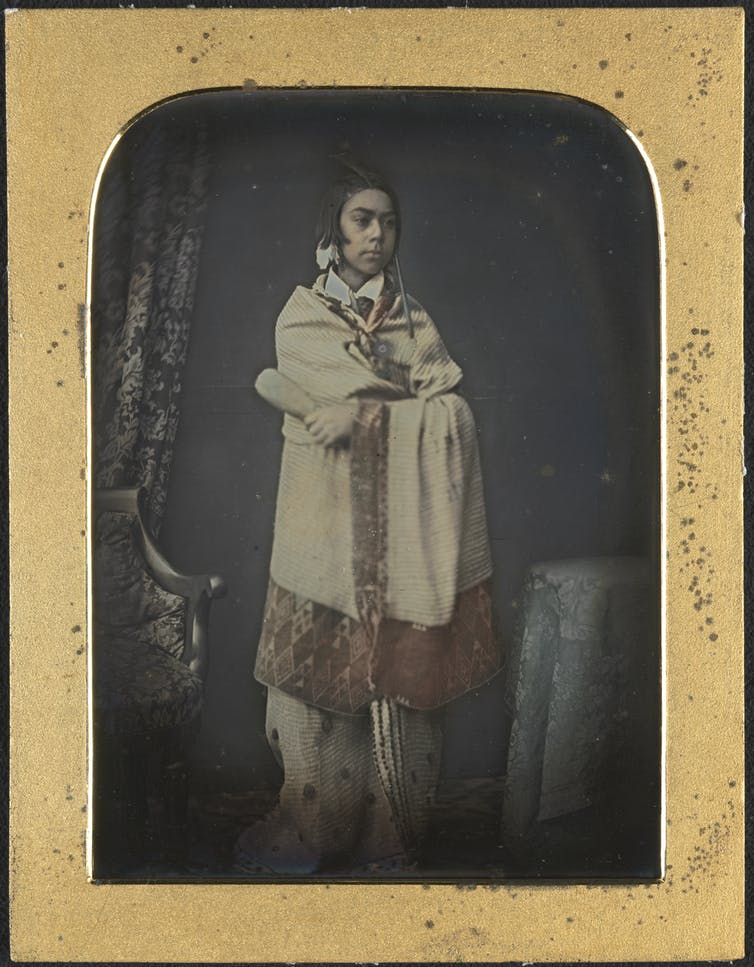Portrait of Hemi Pomara as a young man: how we uncovered the oldest surviving photograph of a Māori