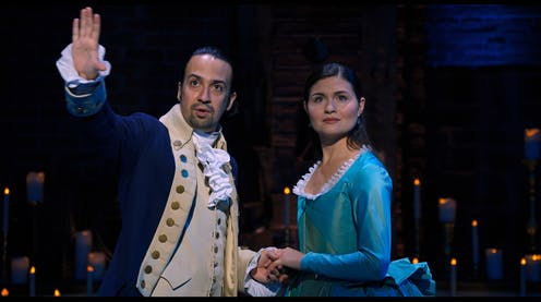 Hamilton – the diverse musical with representation problems