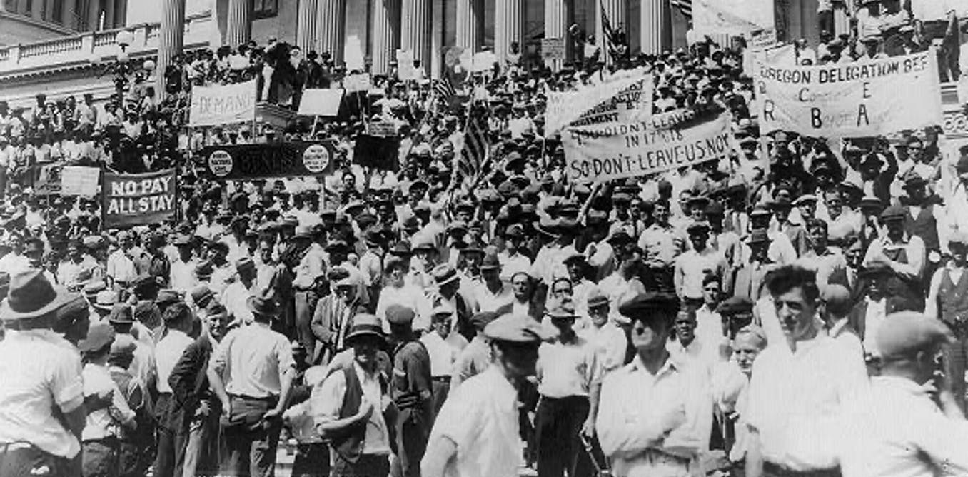A summer of protest, unemployment and presidential politics – welcome to 1932