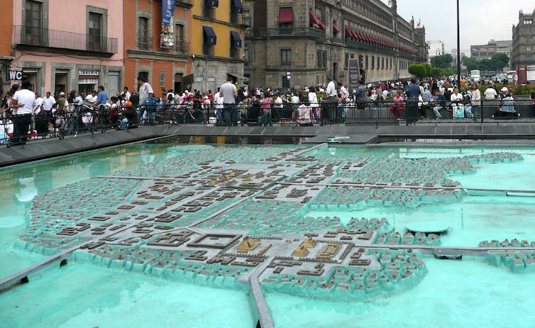 Mexico City buried its rivers to prevent disease and unwittingly created a dry, polluted city where COVID-19 now thrives