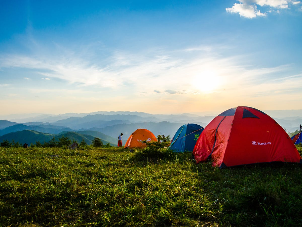 Why going camping could be the answer to your lockdown holiday woes