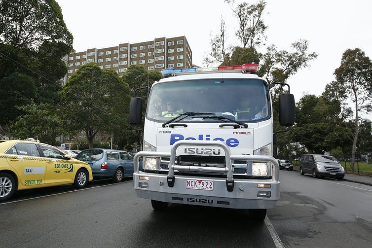 Nine Melbourne tower blocks put into 'hard lockdown' – what does it mean, and will it work?