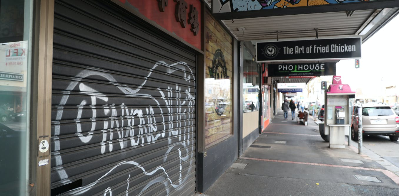 Melbourne's second lockdown spells death for small businesses. Here are 3 things government can do to save them