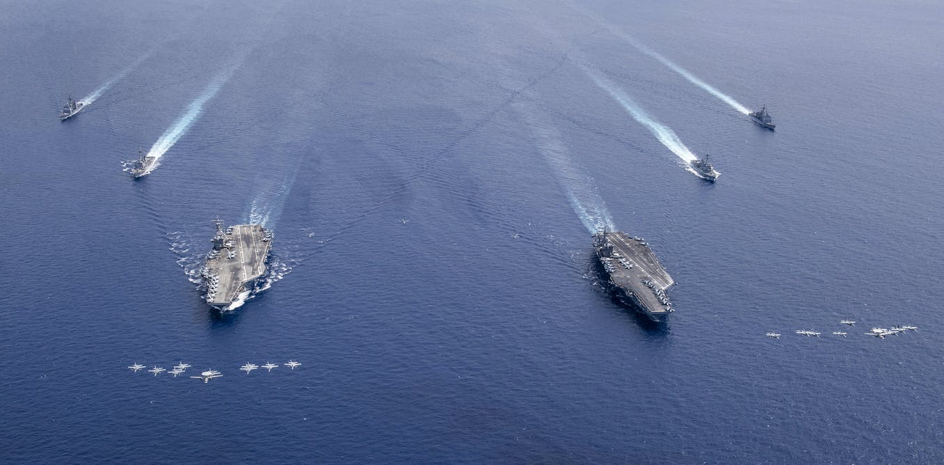 Naval exercises in South China Sea add to growing fractiousness between US and China