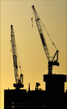 If architecture is the canary in the coalmine, the outlook for construction is appalling