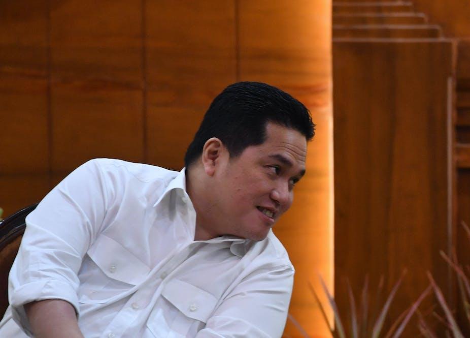 Menteri Badan Usaha Milik Negara Erick Thohir