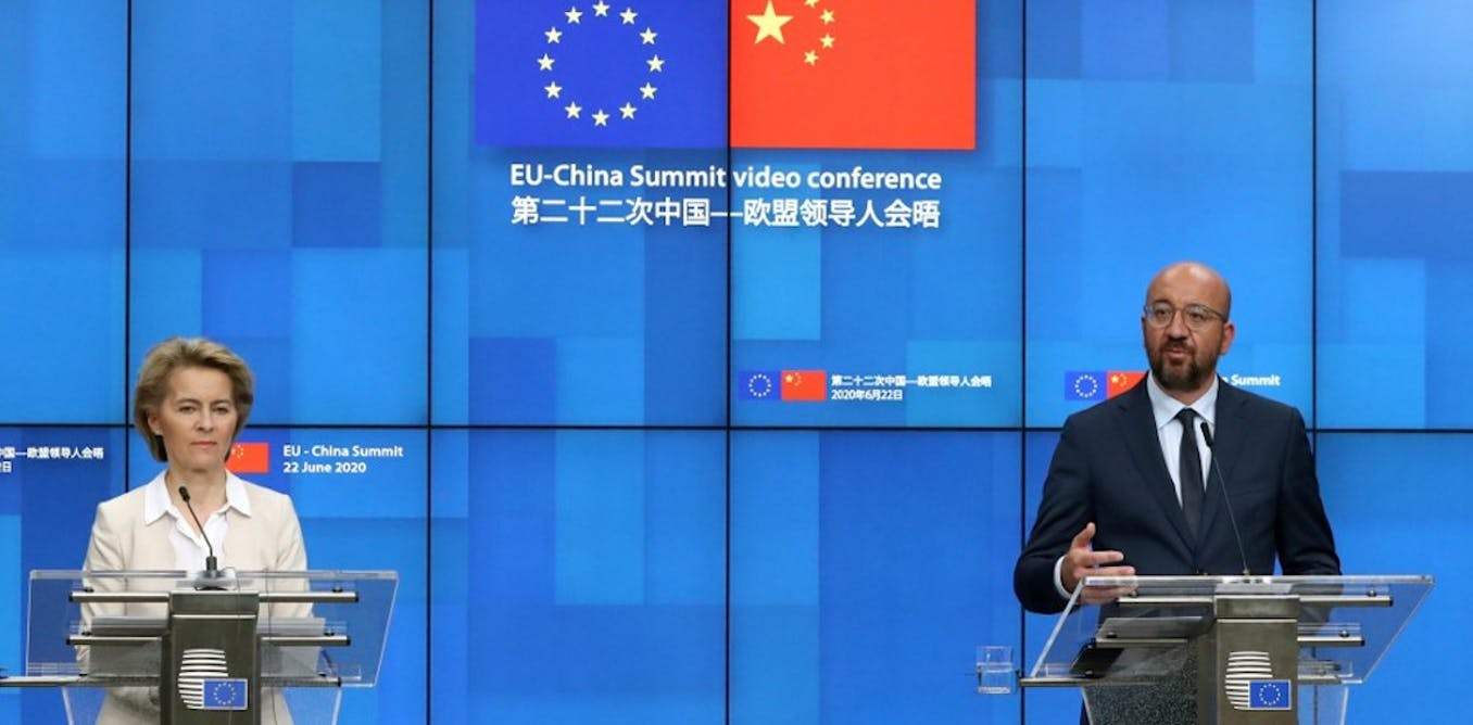 The EU's new defensive approach to a rising China