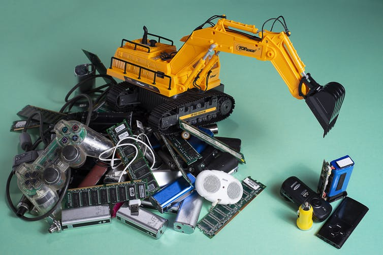 Global electronic waste up 21% in five years, and recycling isn't keeping up