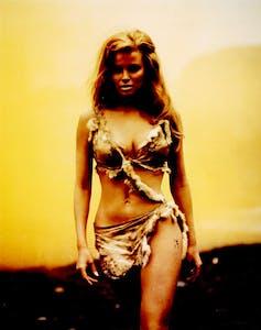 Rachel Welch en la película Hace un millón de años ( Don Chaffey, 1966). IMDB