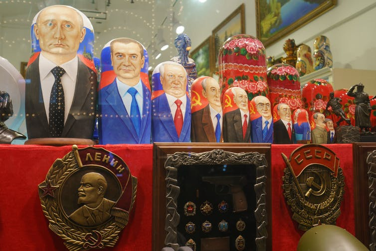 From Lenin to Putin: Russia's turbulent history as told by the foreign press