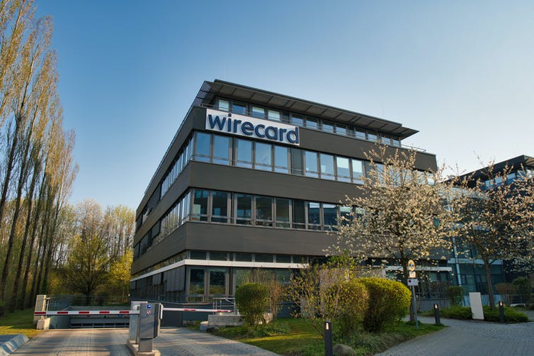 Payments firm, Wirecard's headquarters in Germany.