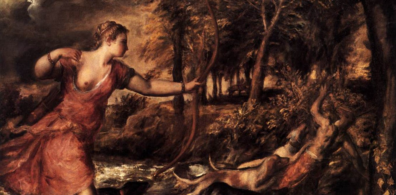 Art for trying times: Titian's The Death of Actaeon and the capriciousness of fate