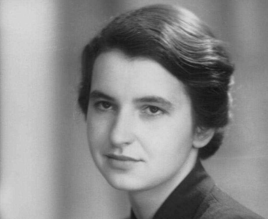 Rosalind Franklin portrait age 25