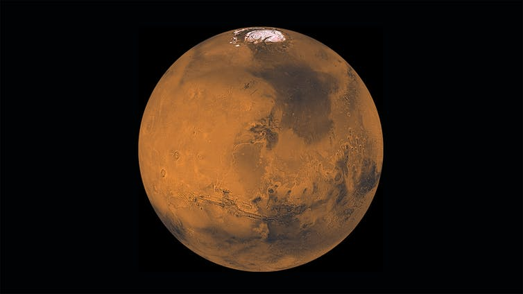 Picture of Mars.