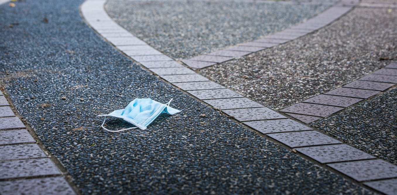 Single-use masks could be a coronavirus hazard if we dont dispose of them properly