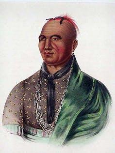 Mohawk leader Joseph Brant
