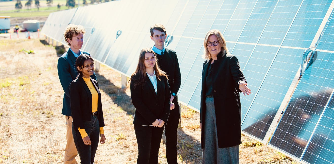 In a world first, Australian university builds own solar farm to offset 100% of its electricity use